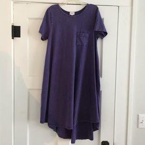 Lularoe purple Carly small
